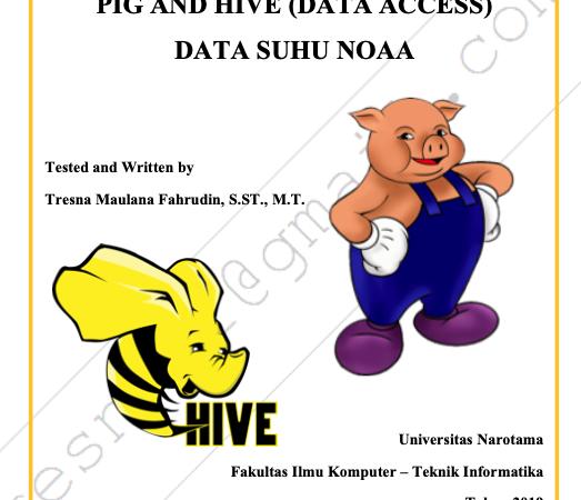 Data Access Menggunakan Hive dan Pig pada Data Suhu NOAA
