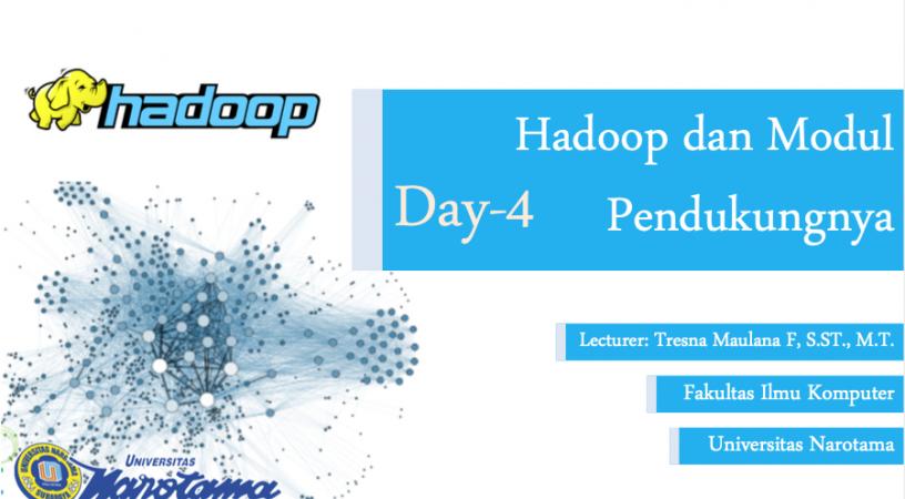 Hadoop dan Modul Pendukungnya