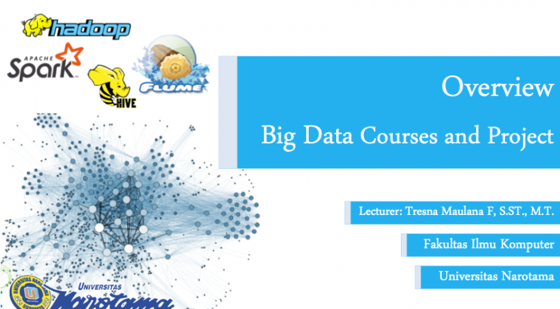 Overview Big Data Courses and Project